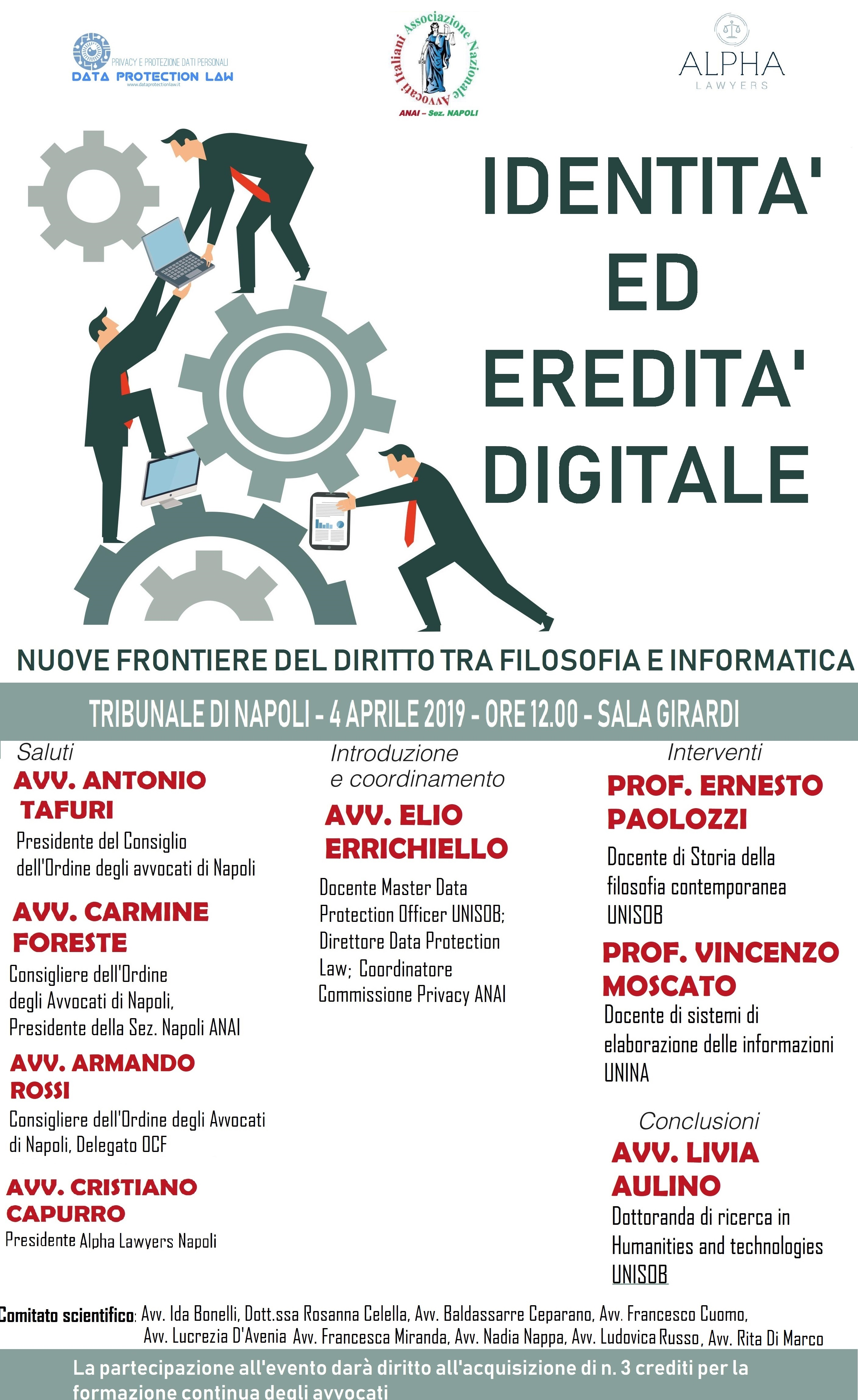 convegno identità ed eredità digitale