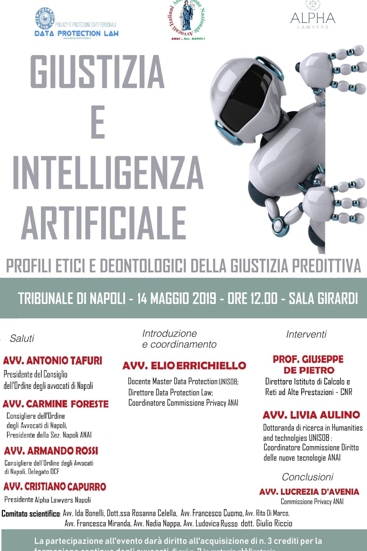 intelligenza artificiale consulenza privacy avvocato elio errichiello data protection law