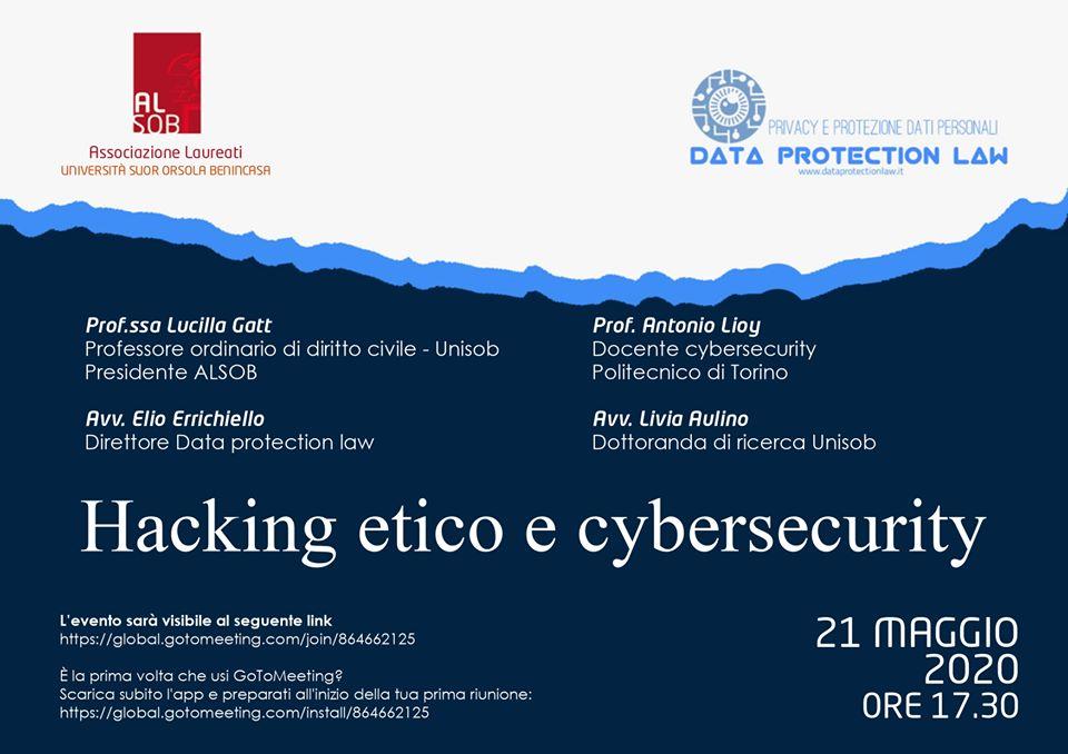 Hacking etico e cybersecurity