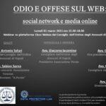 Odio e offese online: social network e media online